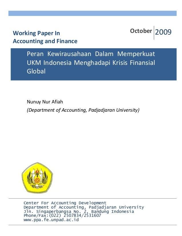 NunuyNurAfiah (DepartmentofAccounting,PadjadjaranUniversity)            October200...