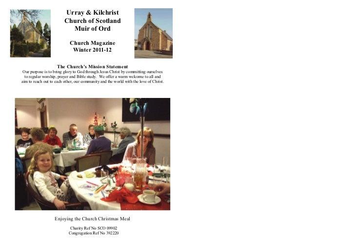 Urray & Kilchrist                         Church of Scotland                           Muir of Ord                        ...