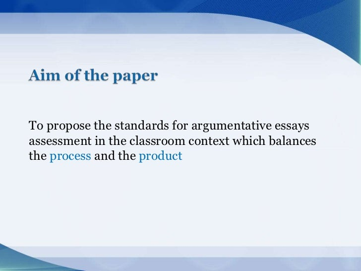the assessment process 2 essay As an assessment tool, essay items can test complex learning  the subjectivity of the grading process finally, as an assessment  in education, 2(1.