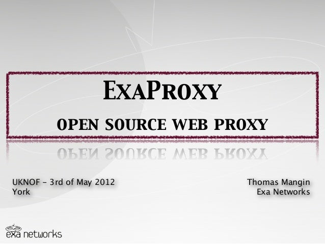 ExaProxy