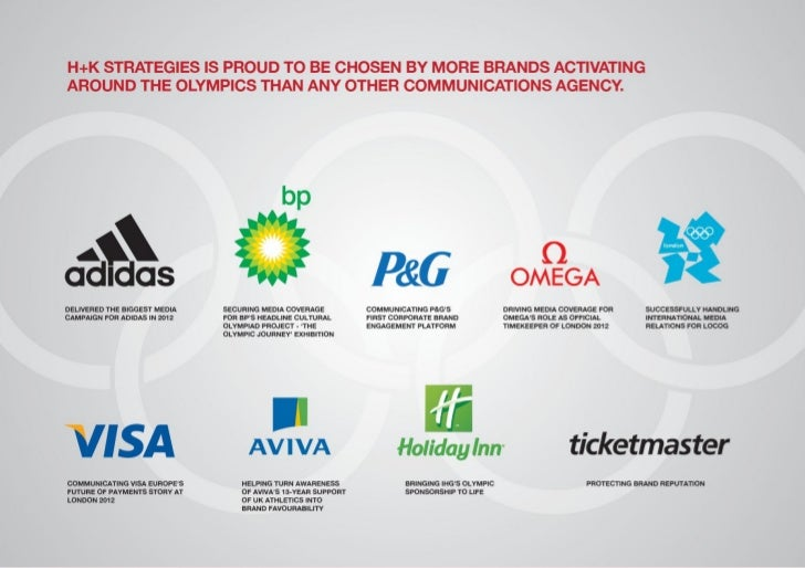 Proud to be chosen by more brands activating around the Olympics than any other communications agency