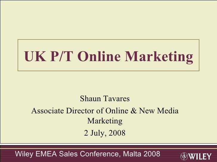 Uk Online Marketing St