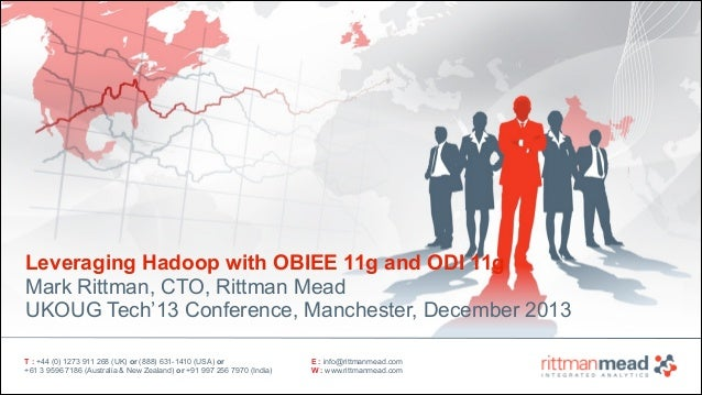 Leveraging Hadoop with OBIEE 11g and ODI 11g - UKOUG Tech'13