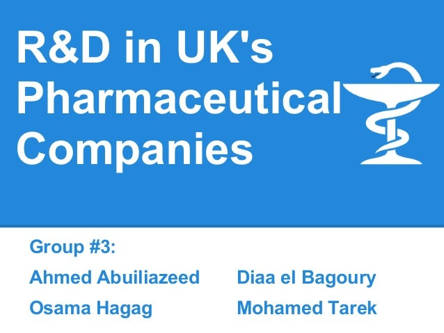 UK Pharma R&D