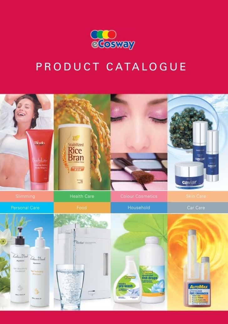 UK Free Franchise - Product Catalogue - ecosway UK Catalogue