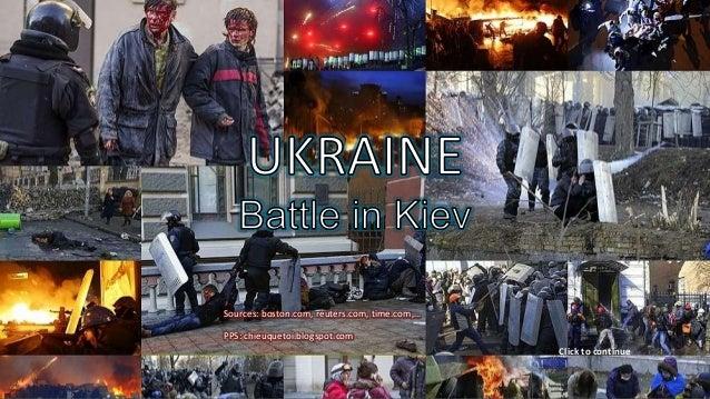UKRAINE_ Battle in KIEV_ FEB,2014