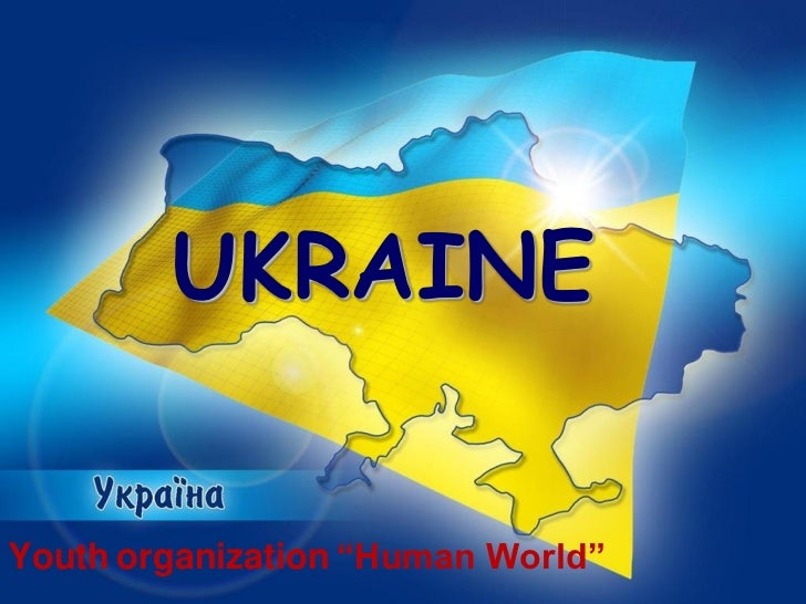 Ukraine, human world (country presentation)