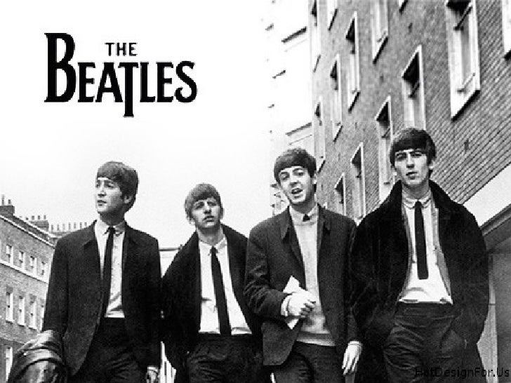 The BeatlesTop:             John Lennon, Paul McCartneyBottom:         George Harrison, Ringo StarrOrigin:         Liverpo...