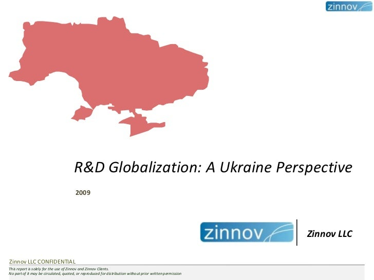 R&D Globalization: A Ukraine Perspective