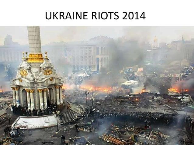 Ukraine Riots Pictures