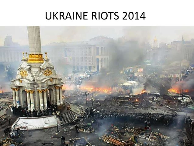 Ukraine Riots Pictures