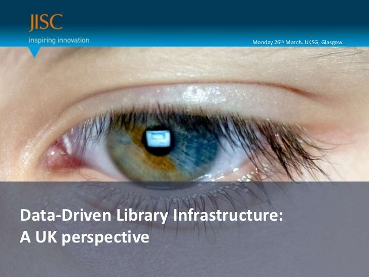 Data-Driven Library Infrastructure