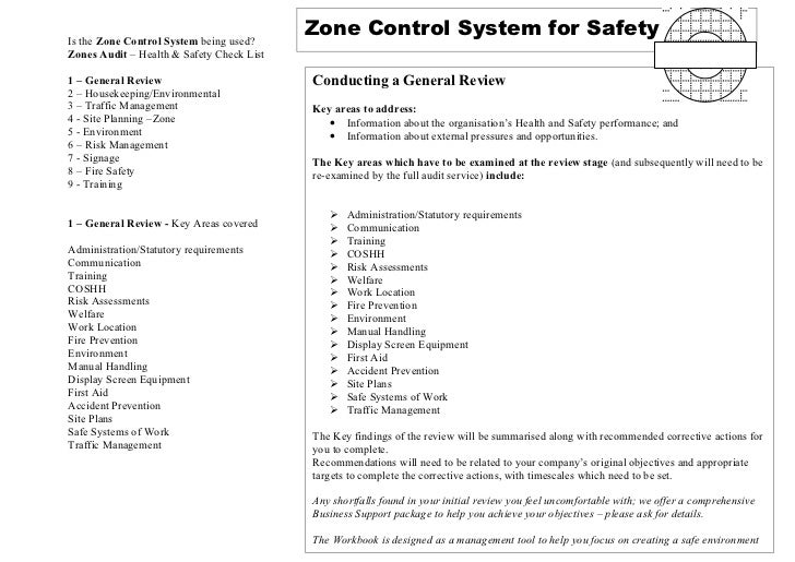 Is the Zone Control System being used?                                           Zone Control System for SafetyZones Audit...