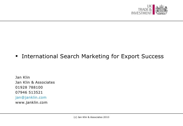 Uktisw online marketing-jan2011-slideshare