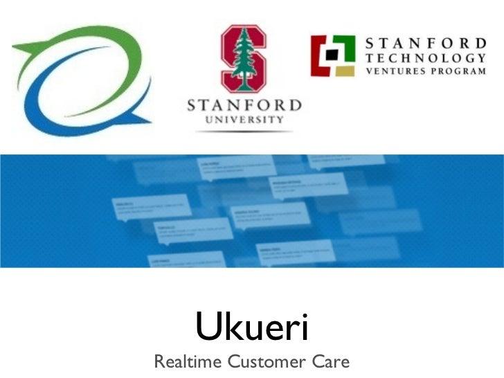 UkueriRealtime Customer Care