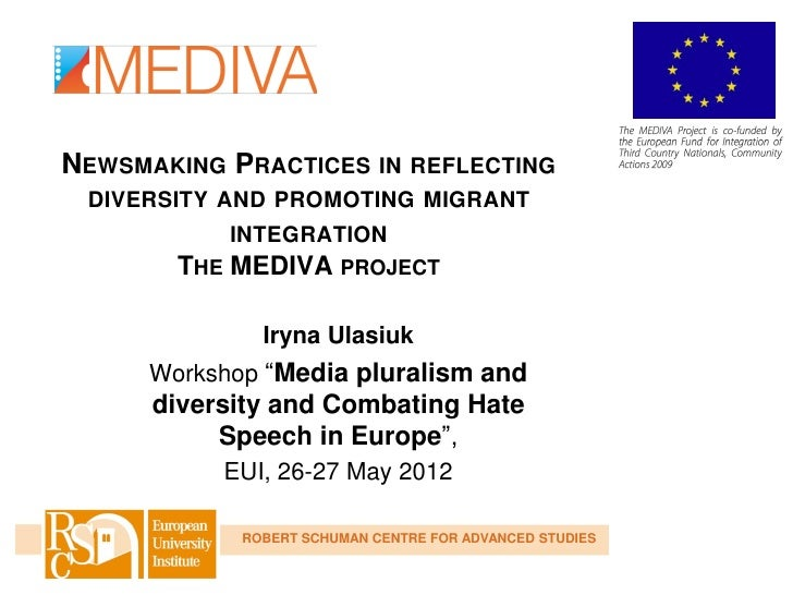 NEWSMAKING PRACTICES IN REFLECTING DIVERSITY AND PROMOTING MIGRANT            INTEGRATION        THE MEDIVA PROJECT       ...