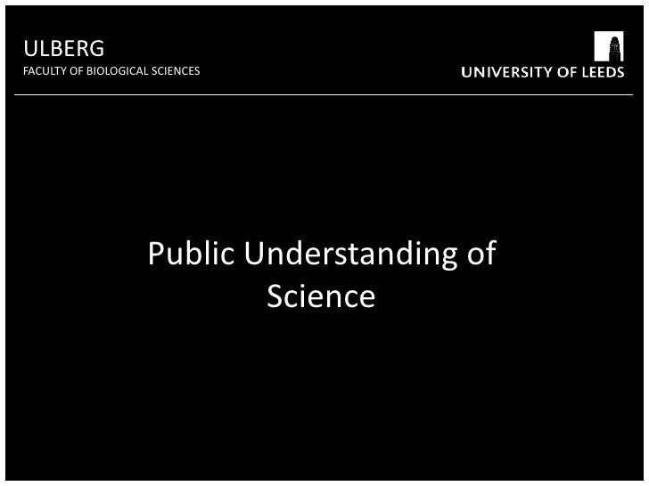 ULBERG<br />FACULTY OF BIOLOGICAL SCIENCES<br />High contrast colours will help audiences to read text from a distance<br ...