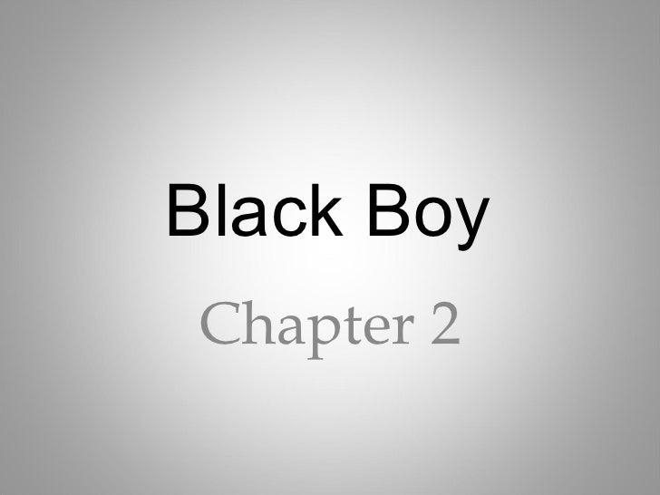Black Boy Chapter 2