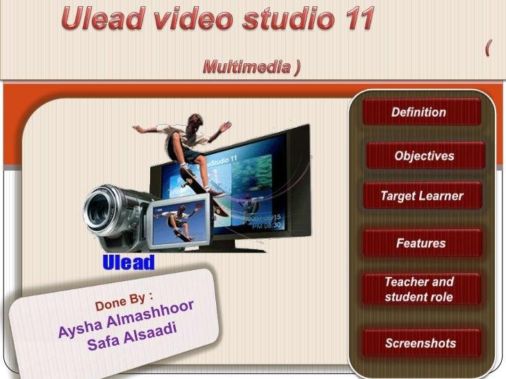 Ulead video studio 11 new