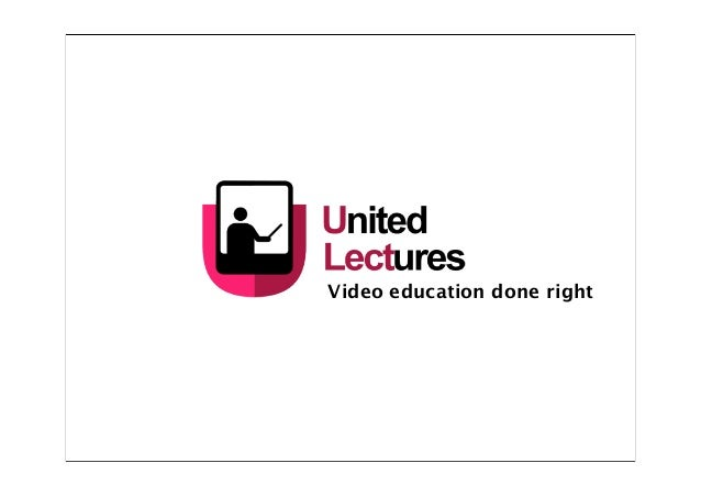 Video education done right