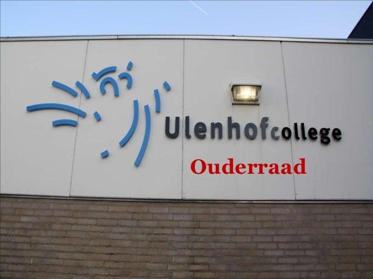 Ulenhof college ouderavond 17 mei 2011