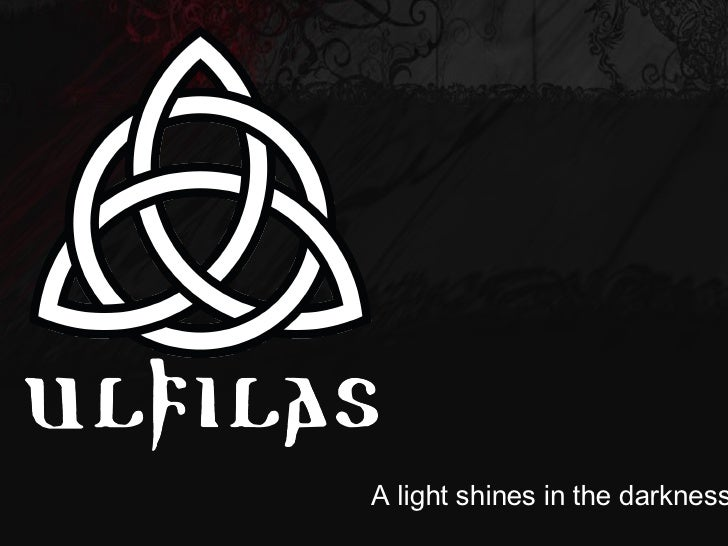 A light shines in the darkness…