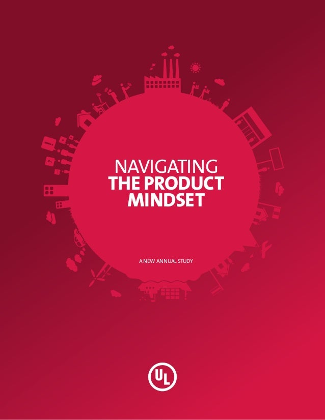 NAVIGATINGTHE PRODUCT  MINDSET  A NEW ANNUAL STUDY