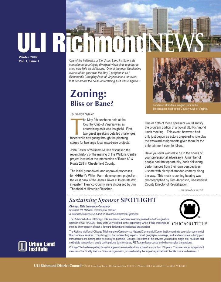 ULI Newsletter
