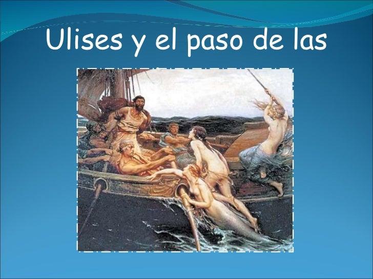 Ulises y el paso de las sirenas