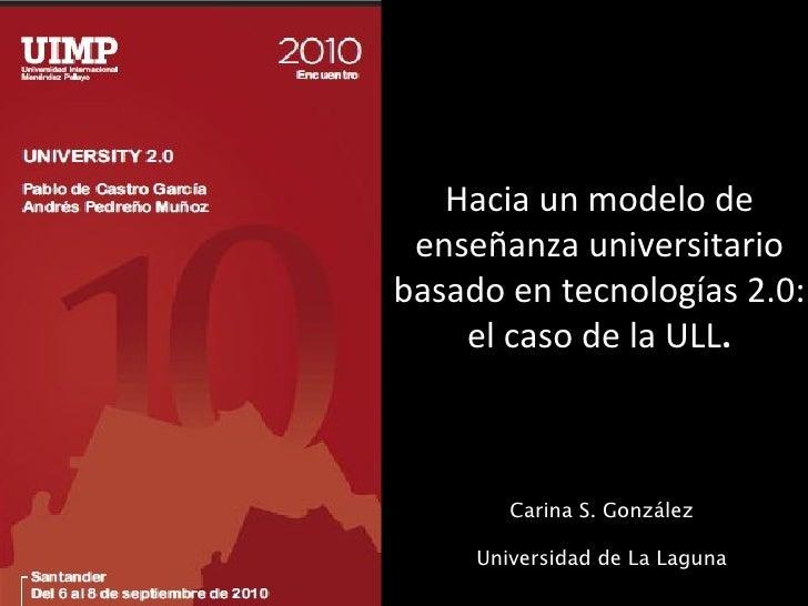 Ull University 2 0