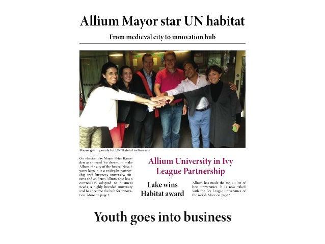 URBACT Summer University 2013 - Labs - Promoting Entrepreneurship - ULSG at Work