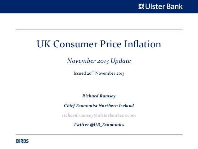 UK Consumer Price Inflation