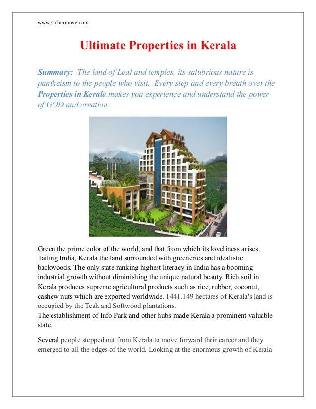 Ultimate properties-in-kerala