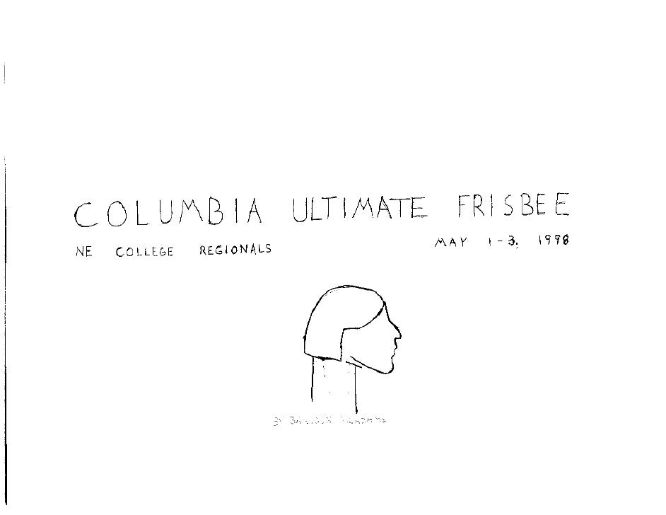 Ultimate Frisbee Regionals