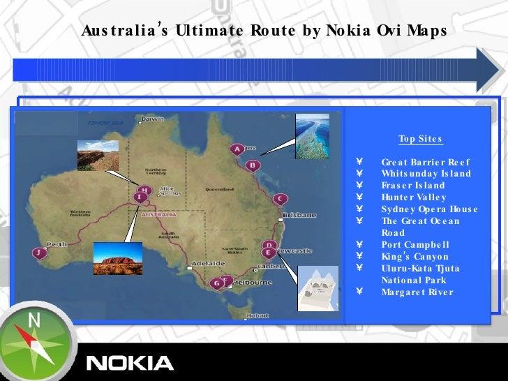 Ovi Maps - Ultimate routes