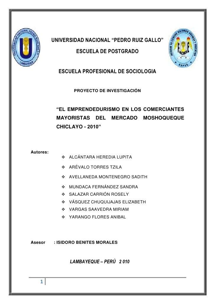 """4831715-324062-654685-324485UNIVERSIDAD NACIONAL """"PEDRO RUIZ GALLO""""<br />ESCUELA DE POSTGRADO<br />ESCUELA PROFESIONAL DE ..."""