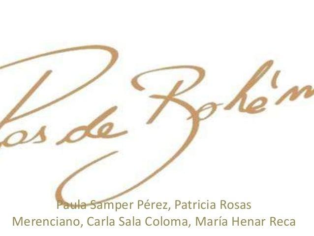 Paula Samper Pérez, Patricia Rosas Merenciano, Carla Sala Coloma, María Henar Reca
