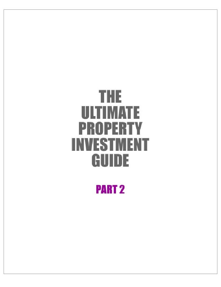 The Ultimate Property Investment Guide2