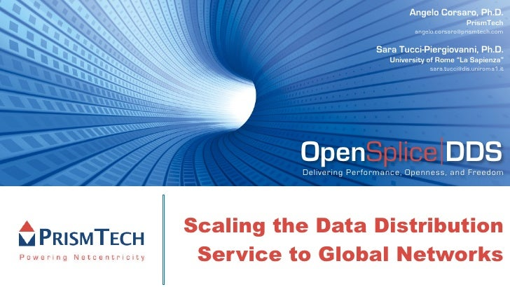 Scaling the Data Distribution Service to Global Networks