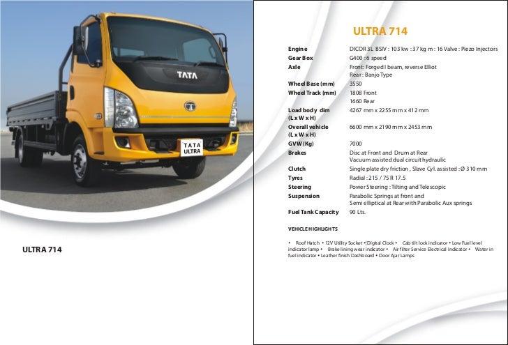 ULTRA 714            Engine                      DICOR 3L BSIV : 103 kw : 37 kg m : 16 Valve : Piezo Injectors            ...