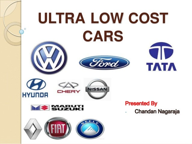 Ultra low cost car