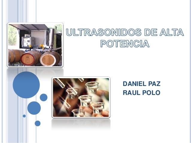 DANIEL PAZRAUL POLO