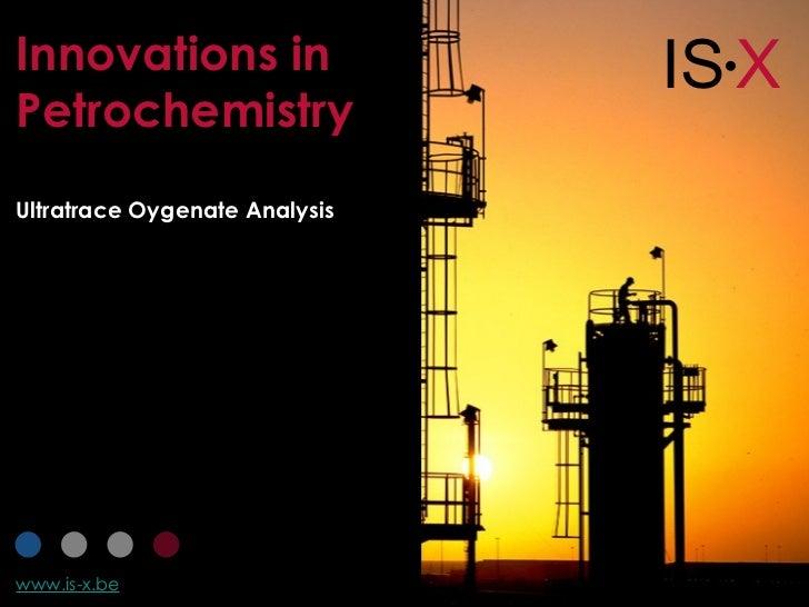 Ultratrace oxygenate analysis by GC/MS