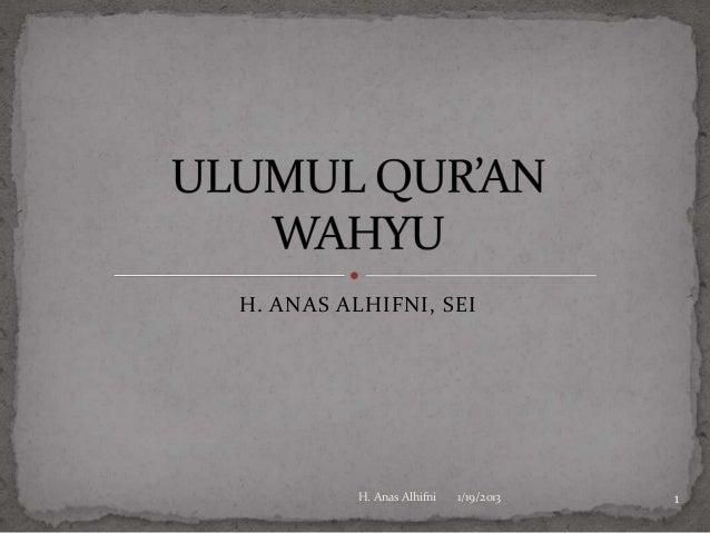Ulumul qur'an 4