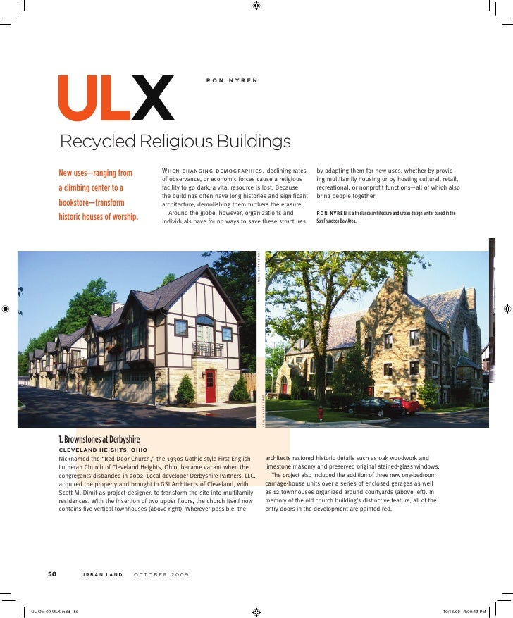ulx Recycled Religious Buildings                                               ronnyren                                  ...