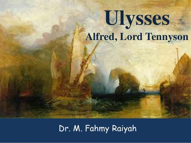 critical essays ulysses tennyson