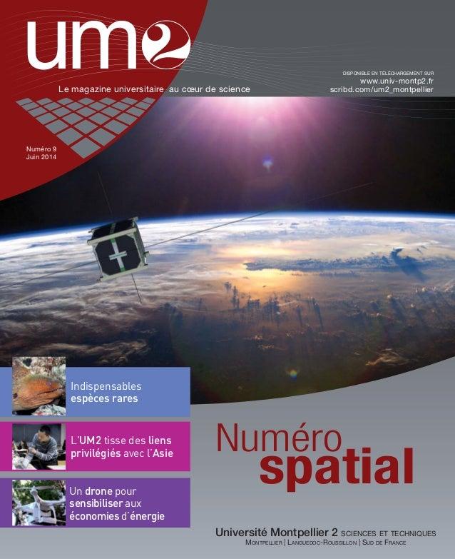 UM2 Magazine n°9 Juin 2014