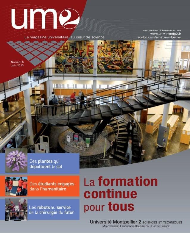 UM2 magazine n°6 juin 2013
