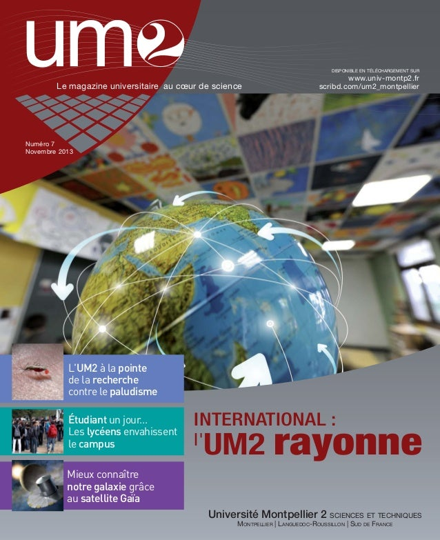 UM2 magazine n°7 novembre 2013