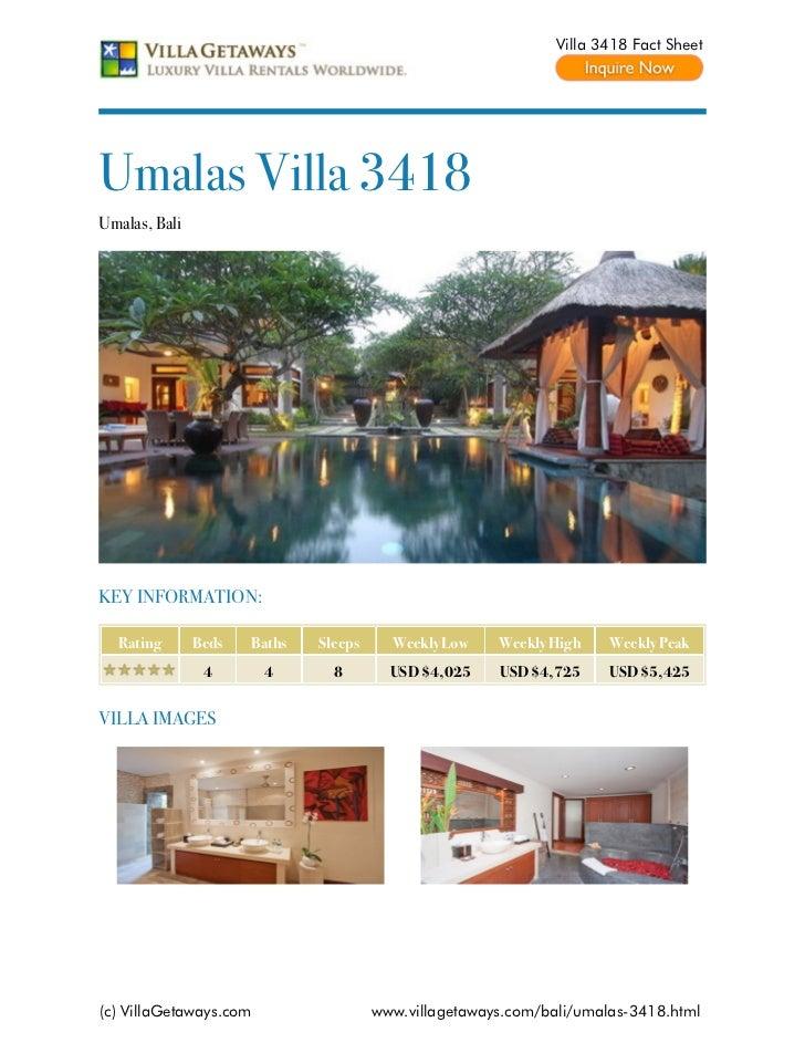 Umalas villa 3418,bali